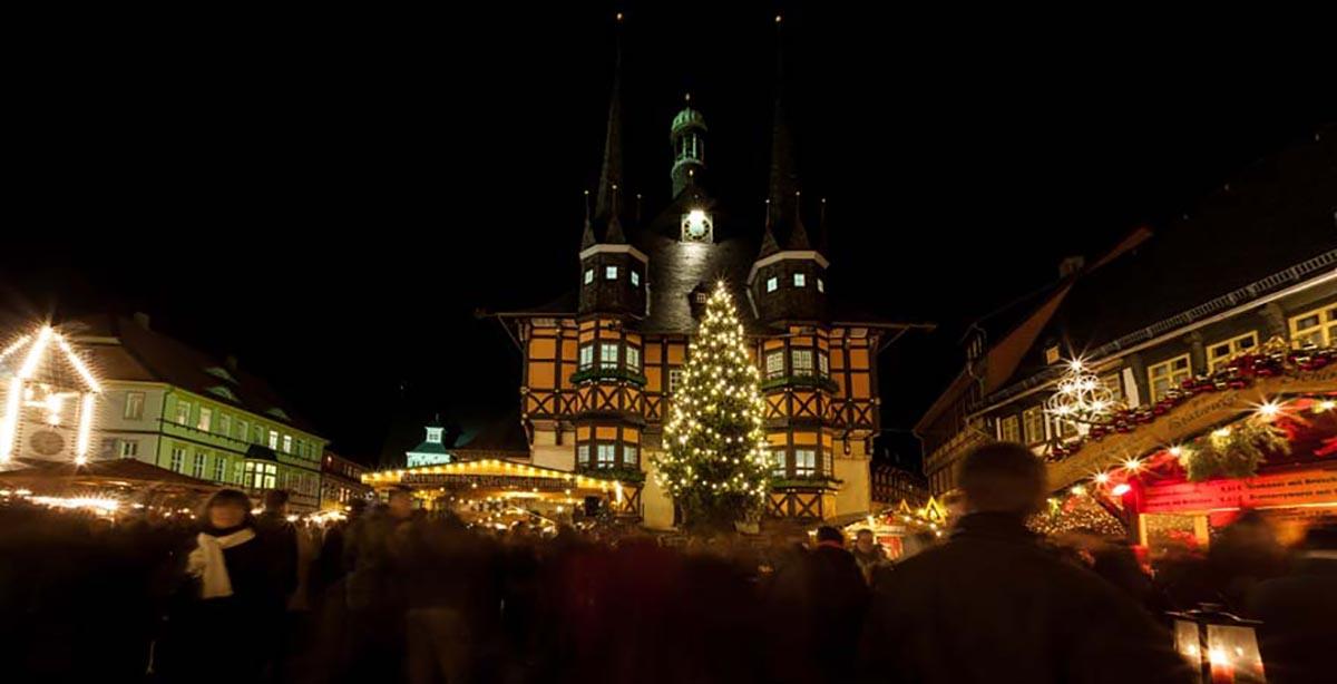 Wernigerode Weihnachtsmarkt.Weihnachtsmarkt Mandelholz Hotel Und Restaurant